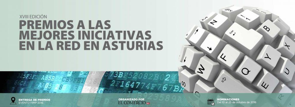 XVIII PREMIO A LA MEJOR WEB DE ASTURIAS 2016
